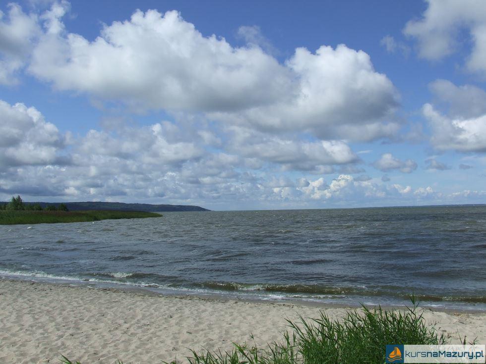 plaża we Fromborku