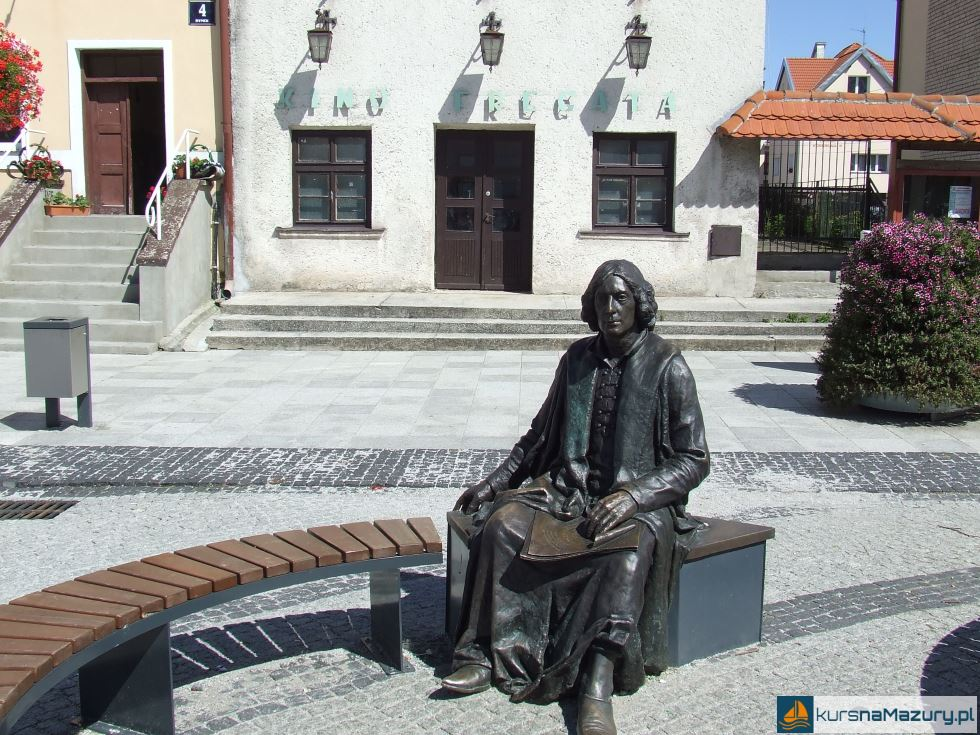 Ławeczka Kopernik