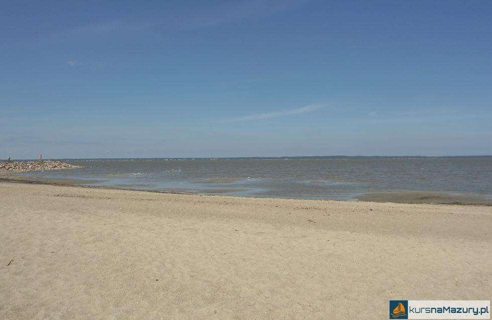 Plaża w Tolkmicku