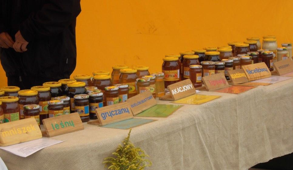 Festyn pszczelarski pszczoły i miód
