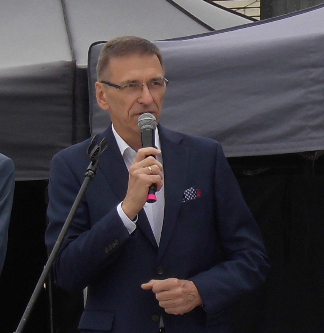 Piotr Grzymowicz prezydent Olsztyna