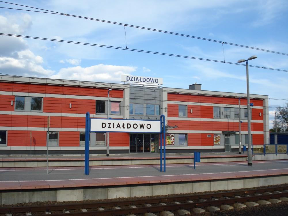 Stacja kolejowa Działdowo